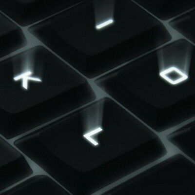 Logitech K800 Wireless Illuminated Keyboard - REPLACEMENT Keys, Clips & Parts