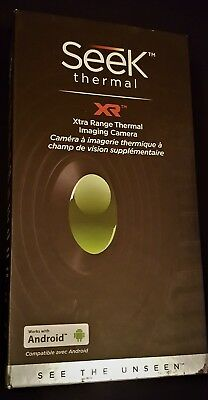 NEW Seek Thermal XR Extra Range Compact Thermal Imaging IR Camera Android SEALED
