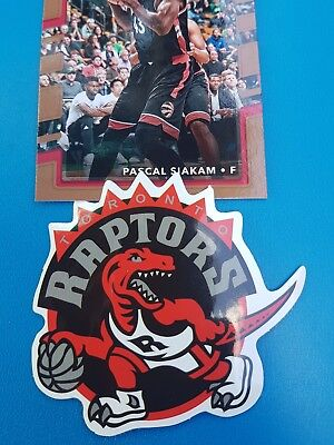 Toronto Raptors themed Car Decal Sticker Badge basketball collectable