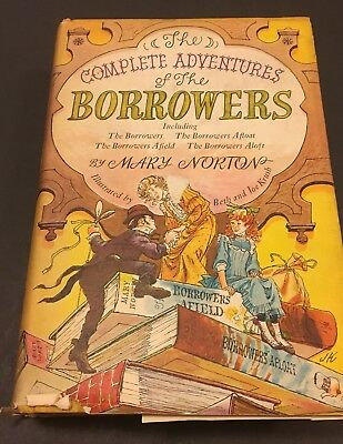 Vintage 1967 The Complete Adventures Of The Borrowers Mary Norton