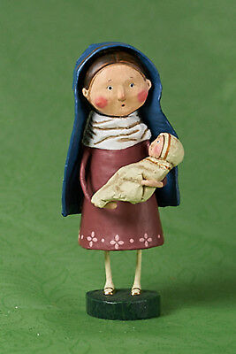 Lori Mitchell™ Mother Mary - w Baby Christmas Holiday Religious Figurine 38228