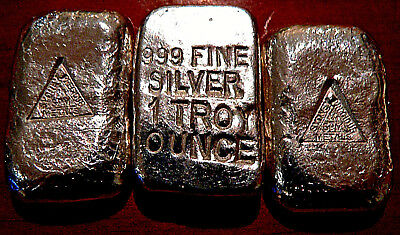 Sydney Precious Metals 1Oz .999 Pure Fine Silver Bullion Bar FREEPOST & TRACKING