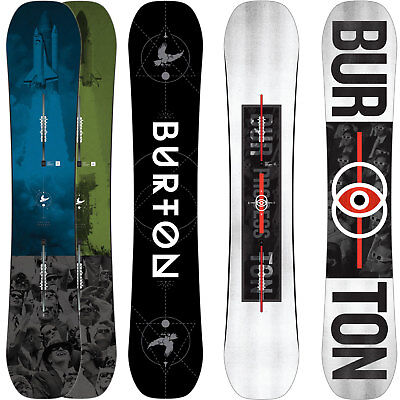 Burton Process FV Flying V Men's Freestyle Snowboard 2017-2018 NEW