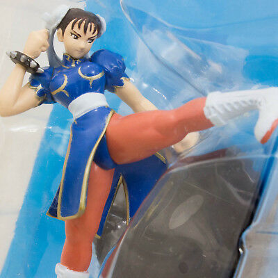 RARE! Street Fighter 2 Chun-Li Capcom Character Mini PVC Figure JAPAN GAME NEW