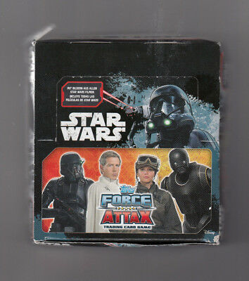 TOPPS - Star Wars Force Attax - Trading Cards Booster 24er Display =120 Karten