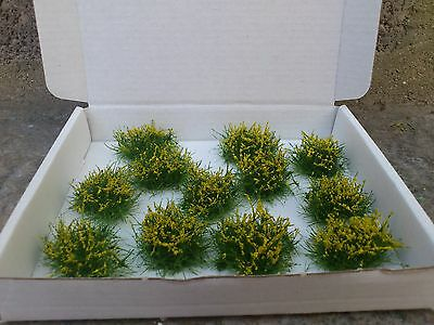 New!! 12 Gorse Bushes OO/HO for model railway, gaming etc