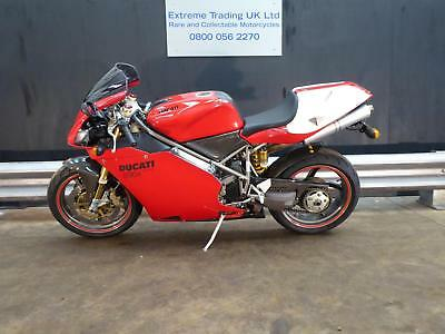 Ducati 996R 2001 with low mileage No 103 in stunning condition