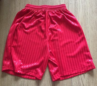 Men's Red Football Shorts- Size 34inches- BRAND NEW