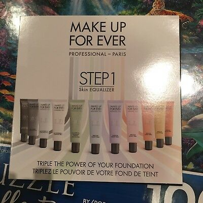 New Make Up For Ever Makeup Forever Thermo Card 4 Primers *SAMPLE* Trial Pack