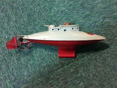 UNDA-WUNDA  Diving Submarine Sutcliffe Model