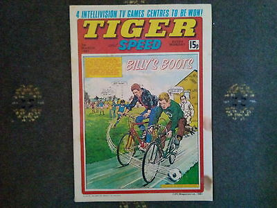 Tiger And Speed Comic 7Th March 1981 - Billy's Boots