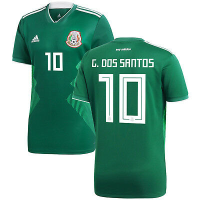 7-8 Years Kids Youth 2018  Mexico Fans Home  Jersey and Short Youth Small
