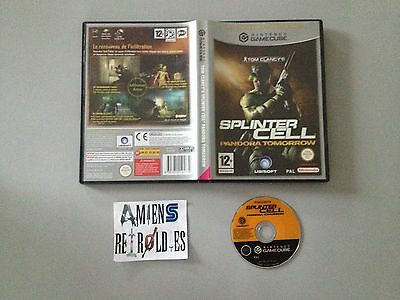 Tom Clancy's Splinter Cell Pandora Tomorrow Nintendo GameCube GC Wii PAL FR