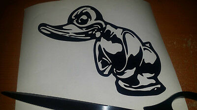 Death Proof Duck Decal