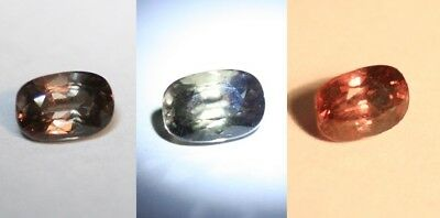 1.2ct Colour Change Garnet - Custom Cut with Rare Superb Colour Change