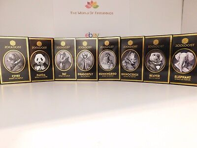 Zoologist Fragrance Samples 2.5ml vials - Choose / Fast Shipping!!
