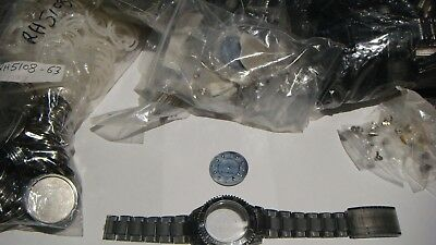TRADE JOB LOT 150 X MIX GENUINE  Red Herring  WATCH STRAP.CASE AND FACE + bits