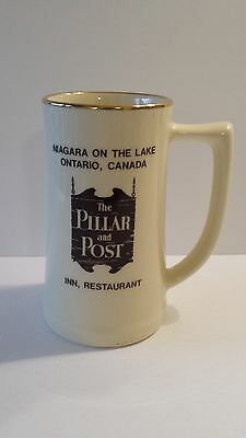 The Pillar and Post Inn Restaurant MUG CUP STEIN  Niagara on the Lake