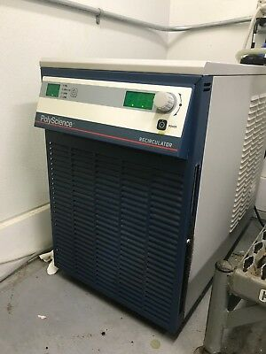 Polyscience Recirculator Chiller/Heater 5360T11A110C 60 Hz 13.5 A Single Phase