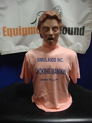 Simulaids Choking Manikin Pink #1
