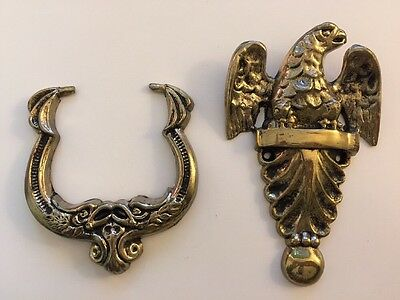 "New Vintage Decorative Solid Brass Eagle Door Knocker - 7"" x 4"" x 1"""