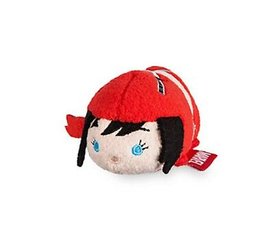Disney Store Tsum Tsum Marvel ELEKTRA Mini Plush