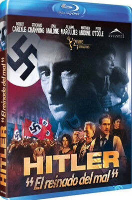 Hitler: The Rise of Evil NEW Series Blu-Ray Disc Christian Duguay Robert Carlyle