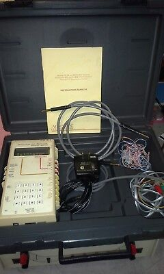 Ameritec AM-44 VF Test Set for Level, S/N, Noise WORKING with accessories TIMS