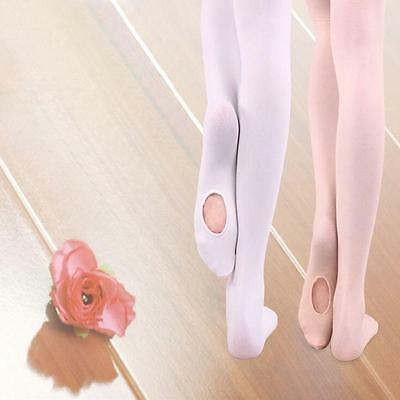 Kids Girls Velvet Dance Sock Pantyhose Ballet Stocking Ballerina Tights MZUS New