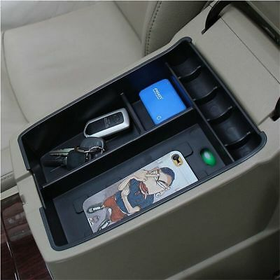 For Toyota Highlander Kluger 2008-2013 Armrest Storage Box Organizer Holder