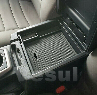 For Toyota Tacoma 2016-2019 Armrest Box Storage Organizer Case Tray Container