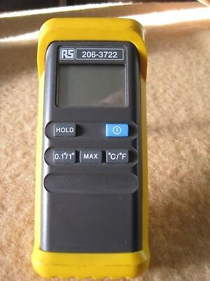 Rs Digital Temperature Thermocouple Meter