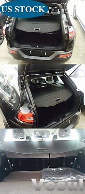 For Jeep Cherokee 2014-2018 Rear Trunk Cargo Luggage Shade Cover Black