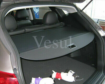 For Hyundai Tucson 2016-2018 Retractable Rear Black Trunk Cargo Shade Cover
