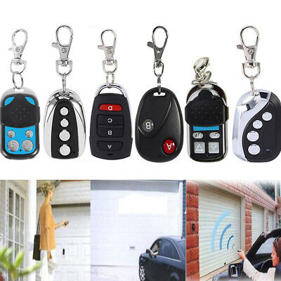 433.92Mhz Auto Wireless Transmitter Gate Opener Cloning Remote Control Key