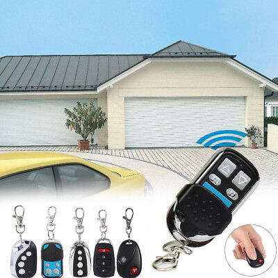 New 433.92Mhz Auto Wireless Transmitter Gate Opener Cloning Remote Control Key