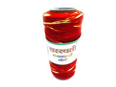 New Pack Cotton Wrist Band Roll Sacred Red Thread Mauli Kalawa Hindu Religious