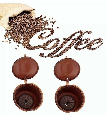 refillable reusable coffee capsules pods Nespresso Dolce Gusto multi-listing