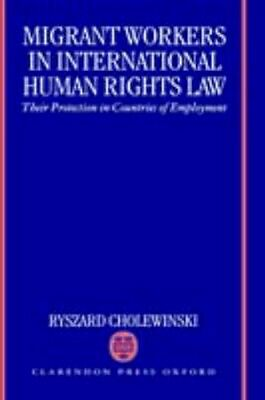 NEW Migrant Workers In International Human Rights Law by... BOOK (Hardback)