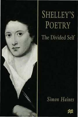 NEW Shelley's Poetry by Simon Haines BOOK (Hardback) Free P&H