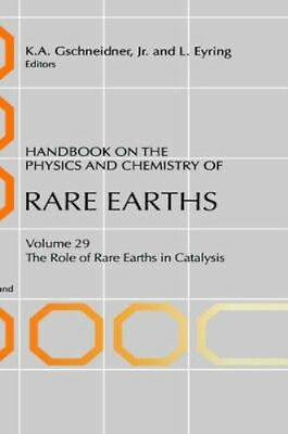 NEW Handbook On The Physics And Chemistry Of Rare Earths by... BOOK (Hardback)