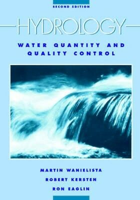 NEW Hydrology And Water Quality Control by Martin P. Wanielista BOOK (Paperback)