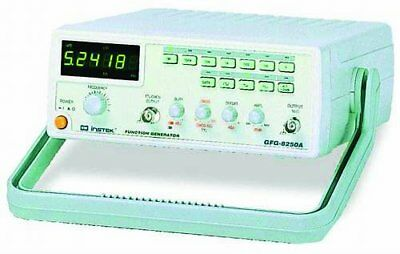 GW Instek GFG-8250A Function Generator with 6 Digit LED Display, Frequency 0.5Hz