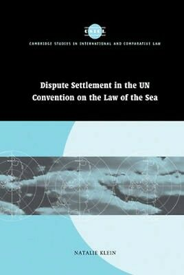 NEW Dispute Settlement In The Un Convention On The Law Of... BOOK (Hardback)