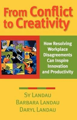 NEW From Conflict To Creativity by Sy Landau BOOK (Paperback) Free P&H