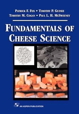 NEW Fundamentals Of Cheese Science by P. L. H. Mcsweeney BOOK (Hardback)