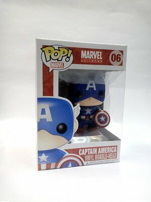 Funko POP Marvel Universe Captain America Vinyl Figure #06
