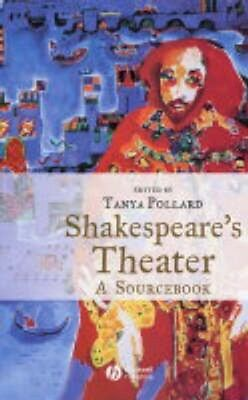 NEW Shakespeare's Theater BOOK (Hardback) Free P&H