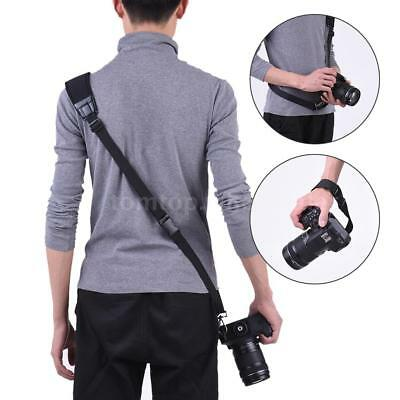 Andoer Camera Shoulder Sling Neck Wrist Strap w/ Rapid Quick Release