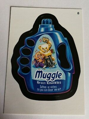 Wacky Packages Topps Card 2014 Series 1 Black #8 Muggle Mint Non Sport Card